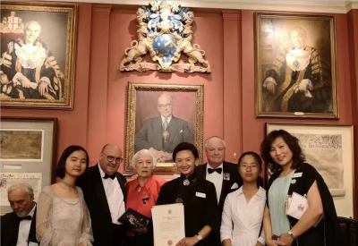 Freeman of the Worshipful Company of Educators of the City of London